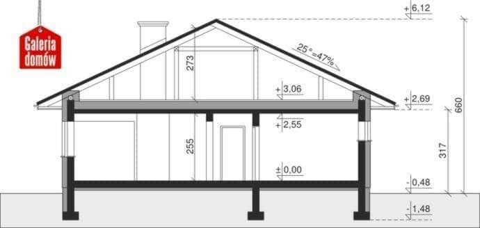 Projekt Domu Dom Przy Pastelowej 3
