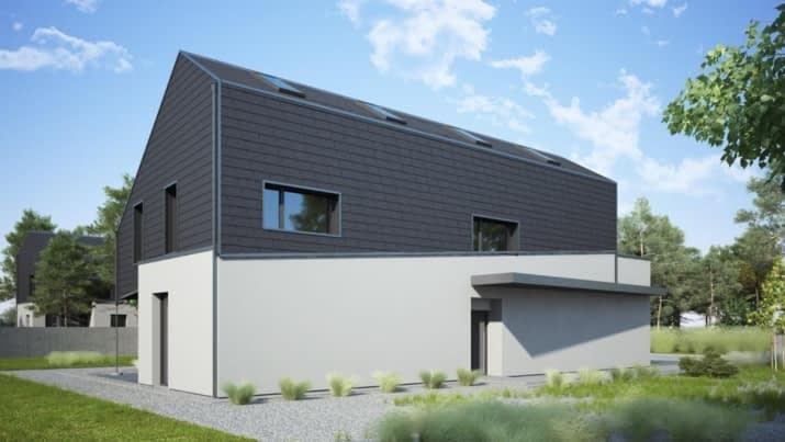 House x11 - wizualizacja 2