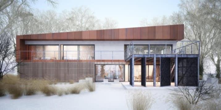House x07 - wizualizacja 2