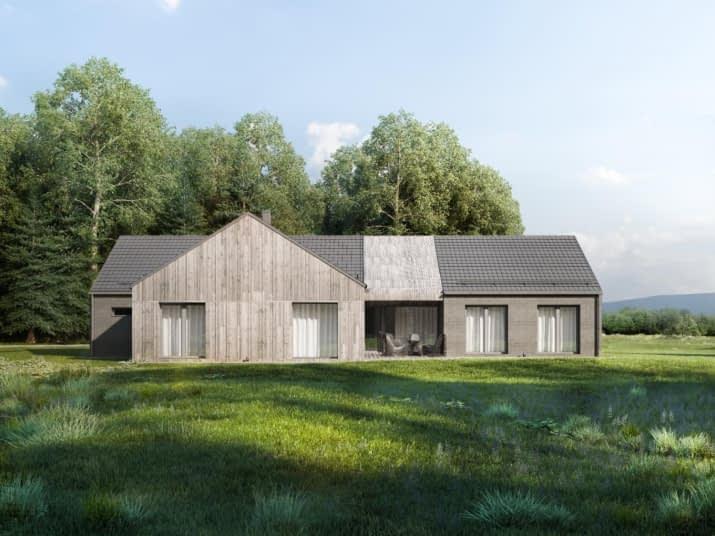 House x44 - wizualizacja 2